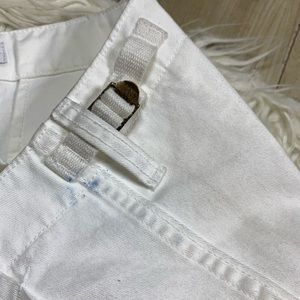 re/done Pants & Jumpsuits - NWT Re/Done Original White Cargo Pants Size 31